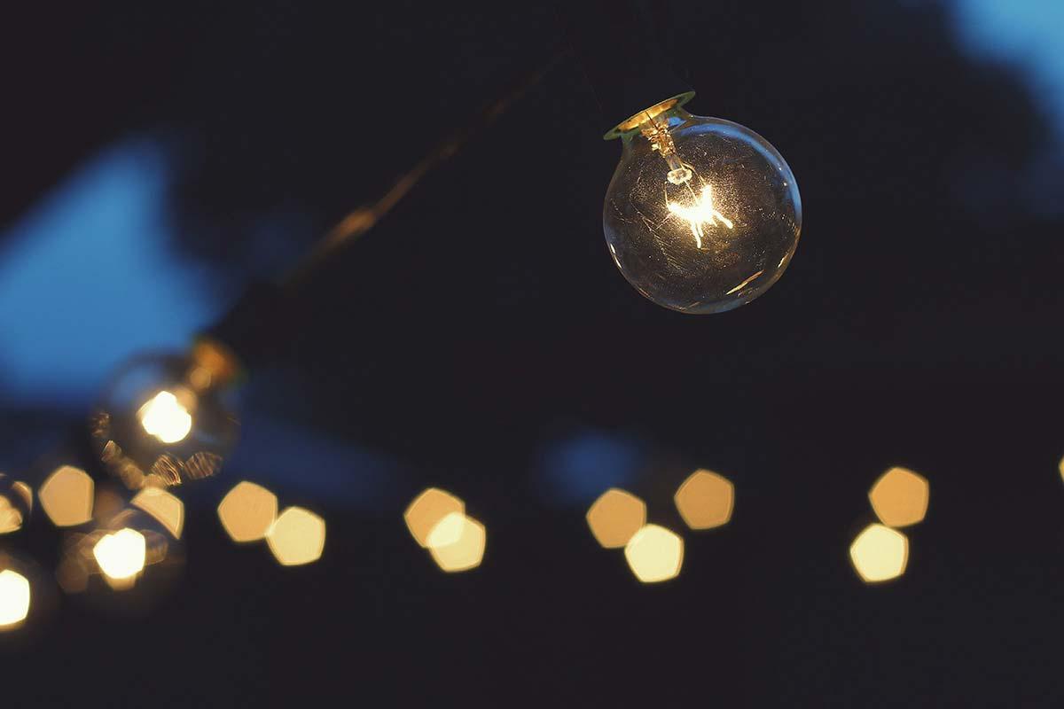 String Lights Bokeh : Trace Thoma // designer, solver